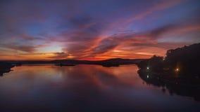 Herrlicher Sonnenaufgang Stockbilder