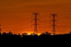 Herrlicher Sonnenuntergang lizenzfreie stockfotos