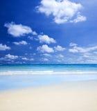 Herrlicher Strand stockfoto