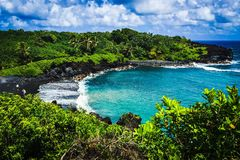 herrlicher Strand auf Maui Stockfoto