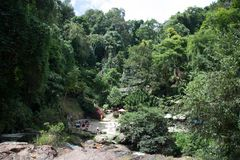 Herrlicher Wasserfall, Vietnam lizenzfreie stockfotos