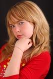 Herrliches blondes gir Lizenzfreie Stockfotos