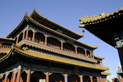 Herrliches Gebäude des chinesischen Palastes Stockfoto