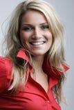 Herrliches lebhaftes blondes Lizenzfreies Stockfoto