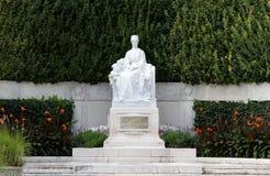 Herrliches Monument zur Kaiserin ELISABETH SISSI in Wien Lizenzfreie Stockbilder