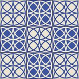 Herrliches nahtloses Muster Marokkanische, portugiesische Fliesen, Azulejo, Verzierungen Lizenzfreies Stockbild