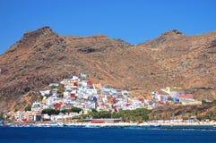 Herrliches San Andres Dorf und Teresitas setzen auf Teneriffa auf den Strand Lizenzfreie Stockfotos
