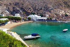 Herronissos Sifnos Greece Stock Images