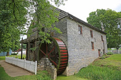 Herrs Mill - Back view Stock Photo