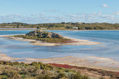 Herschel Lake on Rottnest Island Royalty Free Stock Images