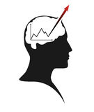 Hersenenactiviteit Royalty-vrije Stock Foto