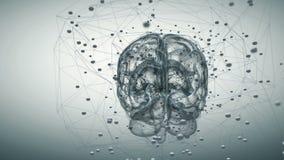 Hersenenactiviteit stock illustratie