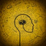 Hersenenmechanisme Royalty-vrije Stock Afbeelding