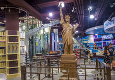 Hershey's Chocolate World. LAS VEGAS - JUNE 17 : The Hershey's Chocolate World store in New york-New York hotel in Las Vegas on June 17, 2014. The 13,000-square Stock Images