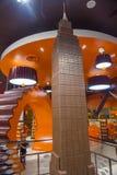 Hershey's Chocolate World. LAS VEGAS - JUNE 17 : The Hershey's Chocolate World store in New york-New York hotel in Las Vegas on June 17, 2014. The 13,000-square Stock Photos