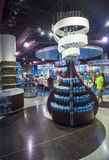 Hershey's Chocolate World. LAS VEGAS - JUNE 17 : The Hershey's Chocolate World store in New york-New York hotel in Las Vegas on June 17, 2014. The 13,000-square Royalty Free Stock Image