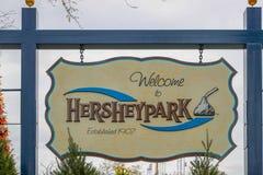Hershey`s Chocolate World super store stock photos