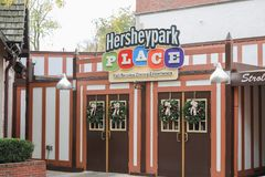 Hershey-` s Schokoladen-Weltsuperspeicher Lizenzfreie Stockfotos