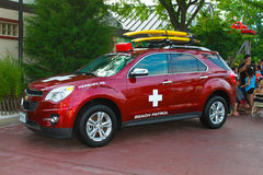 Hersheypark Beach Patrol vehicle Royalty Free Stock Photo