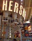 Hersheys Geschäftszeichen Stockfotos