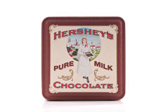 Hersheys Vintage Tin Stock Images