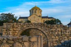 Hersonissos. Crimea Stock Images