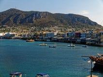 Hersonissos Kreta Arkivfoto