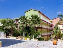 Hersonissos peu de station de vacances, Crète Photos libres de droits