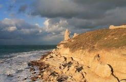 Hersonissos, república de Crimeia Fotografia de Stock Royalty Free