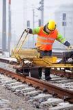 Herstel het spoor Stock Afbeelding
