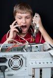 Herstel uw computer. Stock Fotografie