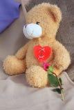 Hersteld gebroken hart Stock Foto