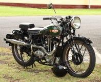 Herstelde BSA-Motorfiets royalty-vrije stock foto