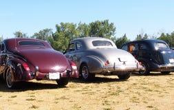 Herstelde Klassieke Auto's Stock Afbeelding