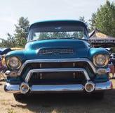 Herstelde Klassieke Uitstekende GMC-Vrachtwagen Stock Foto