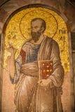 Herstelde Oude Muurschildering bij Chora-Kerk Royalty-vrije Stock Fotografie