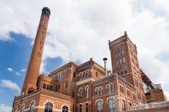 Herstelde Schmidt Brouwerij Royalty-vrije Stock Foto's