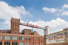 Herstelde Schmidt Brouwerij Royalty-vrije Stock Foto