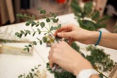 Herstellen einer wunderbaren Zusammensetzungsbaumwolle, Kegel Stockbilder