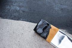 Herstellen eines Schiefers in Ihrem Haus Lizenzfreies Stockfoto