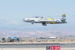 Hersteller Lockheeds T-33 Ace Lizenzfreies Stockfoto