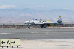 Hersteller Lockheeds T-33 Ace Lizenzfreie Stockfotos