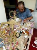 Herstellung der Marionetten Lizenzfreie Stockfotografie