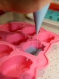 Herstellung der Schokolade Stockbilder