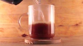 Herstellung des Kaffees stock video footage