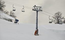 Herstellung des Winters Stockfoto