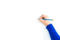 Herstellung eine Auswahl, über weißem Hintergrund Stockbilder