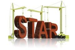 Herstellung eines Sternes Lizenzfreies Stockbild