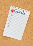 Herstellung Ihrer Ziele Lizenzfreie Stockfotos