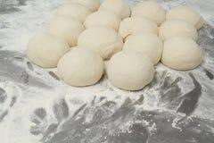 Herstellung von Bäckereiprodukten Stockfotos